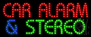 Car Alarm And Stereo Led Sign