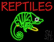 Reptiles Led Sign