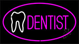 Pink Dentist Animated Neon Sign