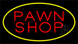 Pawn Shop Yellow Neon Sign