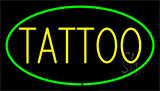 Tattoo Green Neon Sign