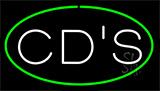 Cds Green Neon Sign