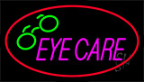 Eye Care Animated Neon Sign