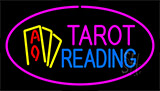 Tarot Reading Pink Neon Sign