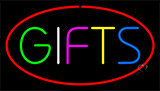 Gifts Red Neon Sign