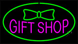 Gift Shop Green Neon Sign