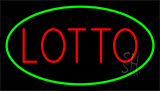 Lotto Green Neon Sign