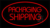 Packaging Shipping Red Neon Sign