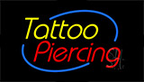 Tattoo Piercing Animated Neon Sign