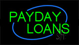Payday Loans Animated Neon Sign