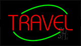 Travel Flashing Neon Sign