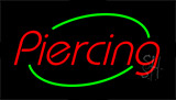 Piercing Animated Neon Sign