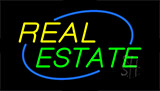 Real Estate Animated Neon Sign