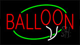 Balloon Animated Neon Sign