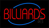 Billiards Flashing Neon Sign