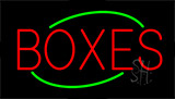 Boxes Flashing Neon Sign