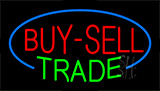 Buy Sell Trade Animated Neon Sign