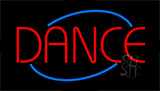 Red Dance Animated Neon Sign