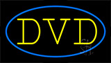 Dvd Flashing Neon Sign
