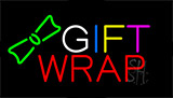 Multi Colored Gift Wrap Animated Neon Sign