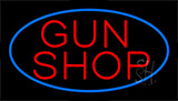 Gun Shop Animated Neon Sign