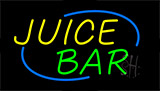 Juice Bar Animated Neon Sign