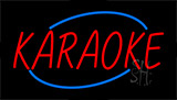 Karaoke Flashing Neon Sign