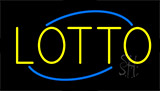 Yellow Lotto Neon Sign