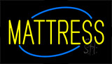 Yellow Mattress Animated Neon Sign