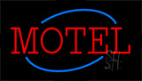 Motel Animated Neon Sign