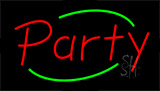Party Flashing Neon Sign
