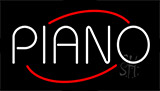 Piano Flashing Neon Sign