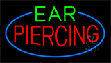 Ear Piercing Animated Neon Sign