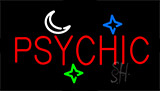 Psychic Flashing Neon Sign