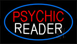 Psychic Reader Flashing Neon Sign