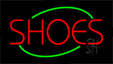 Shoes Flashing Neon Sign