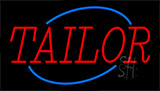 Red Tailor Animated Neon Sign