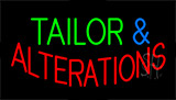 Tailor And Alterations Animated Neon Sign