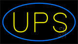 Ups Flashing Neon Sign