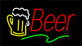 Red Beer Animated Neon Sign