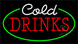 Cold Drinks Animated Neon Sign