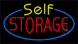 Self Storage Flashing Neon Sign