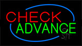 Check Advance Animated Neon Sign
