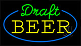 Draft Beer Animated Neon Sign