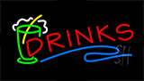 Drinks Animated Neon Sign