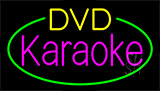 Dvd Karaoke Block Flashing Neon Sign