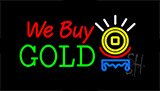We Buy Gold Logo Animated Neon Sign