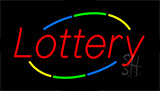 Lottery Animated Neon Sign