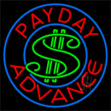 Payday Advance Dollar Logo Neon Sign