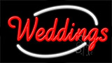 Weddings Neon Sign
